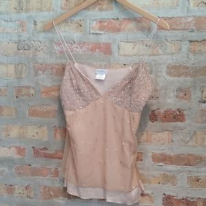 Charlotte Russe Sequin Camisole